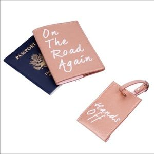 Accessories - Passport Cover and Luggage Tag